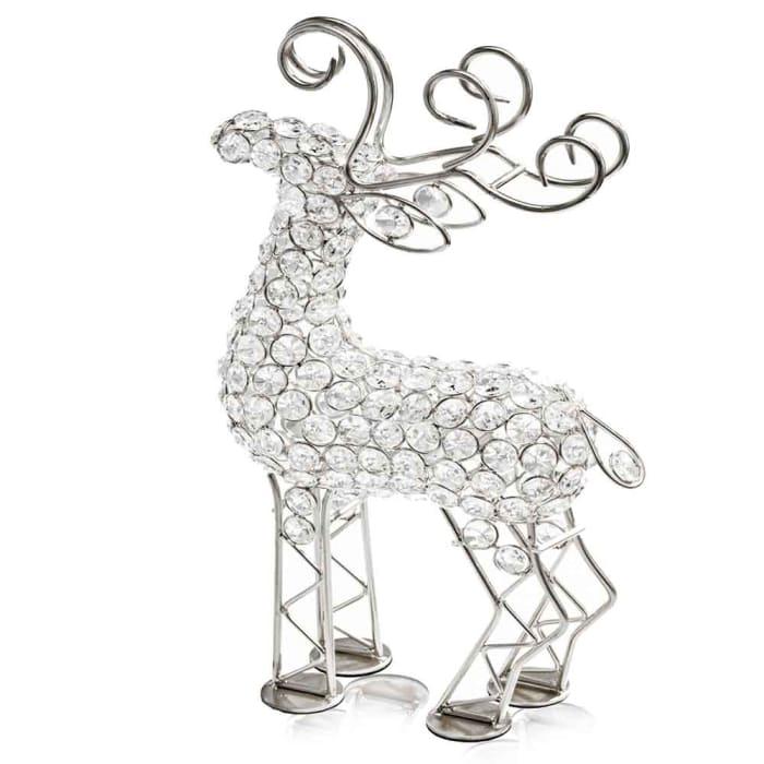 Crystal Reindeer Sculpture