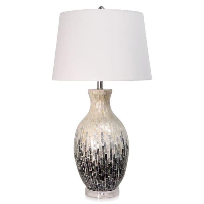 Aasha Capiz Shell Ceramic Table Lamp