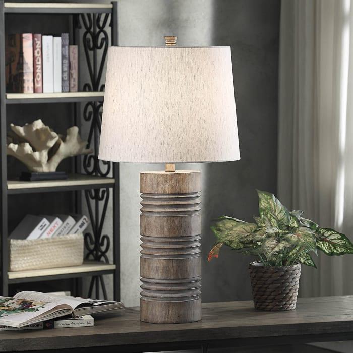 Roanoke Ribbed Table Lamp