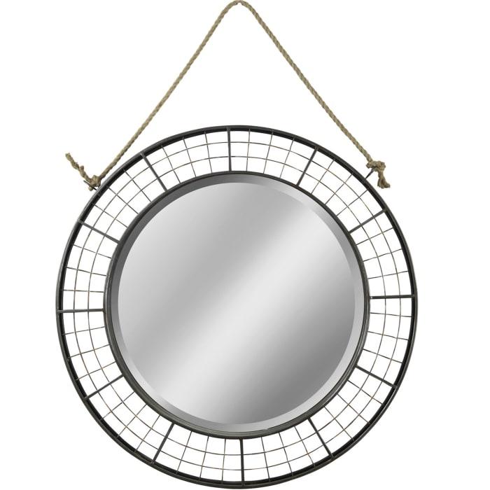Jasper Farmhouse Metal Mirror
