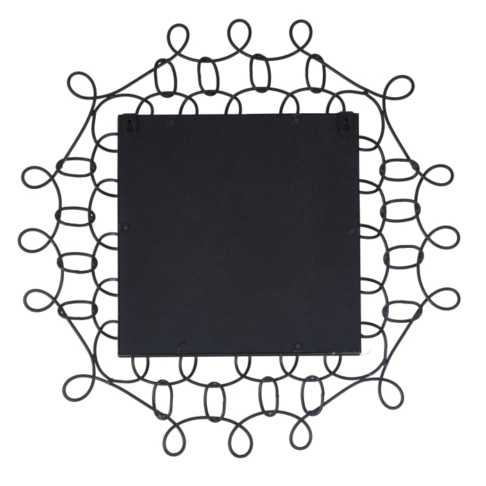 Luka Open Looped Frame Square Wall Mirror