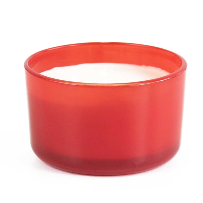 Pier 1 Watermelon Zing Filled 3-Wick 14oz Candle