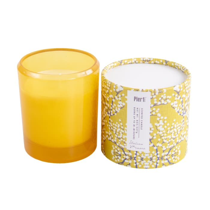 Pier 1 Italian Mimosa Boxed Soy Candle 8oz