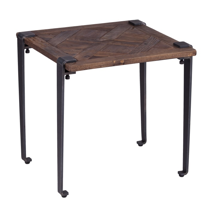 Leanne Square End Table