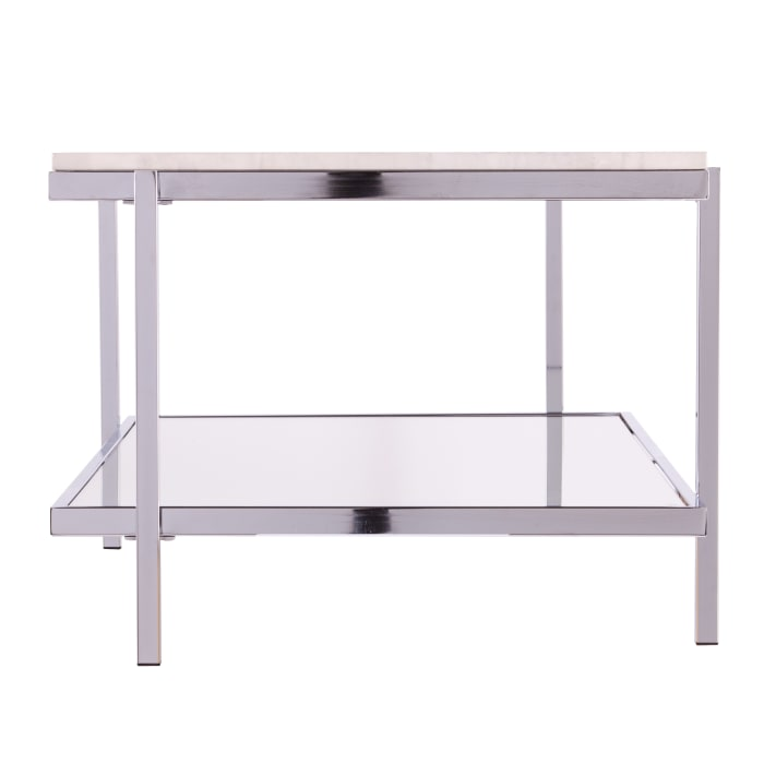 Alicia  Faux Marble Coffee Table