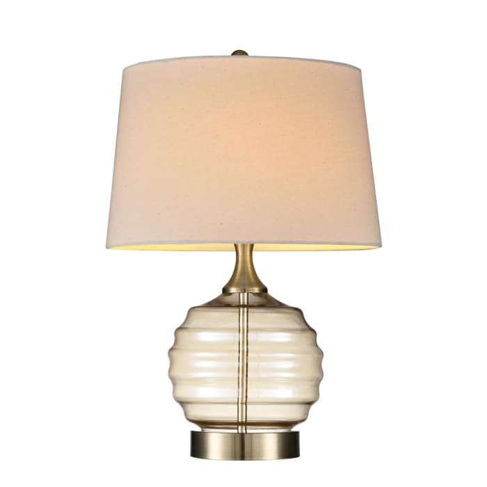Tuscan Sun Glass Table Lamp