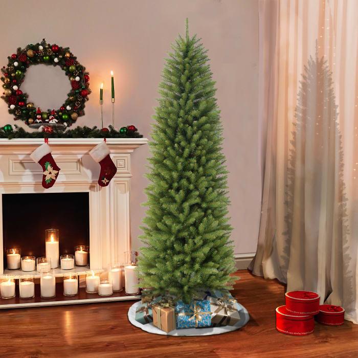 7.5' Green Pencil Fraser Fir Artificial Christmas Tree