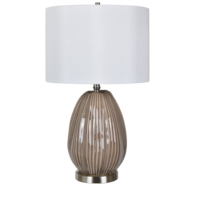 Priya Champagne Ceramic Table Lamp