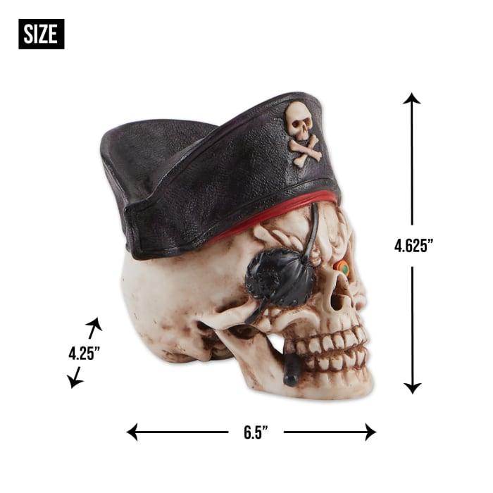 Grinning Pirate Skull