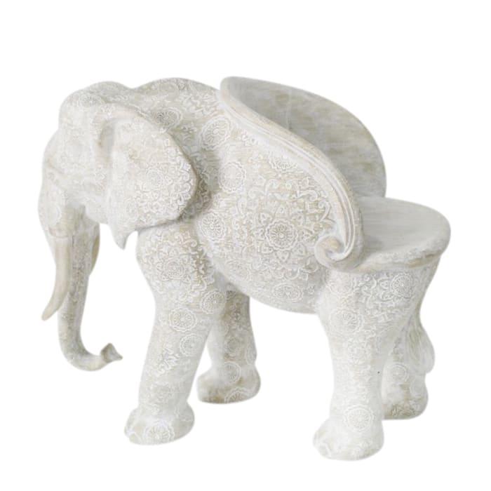 Medallion Elephant Chair