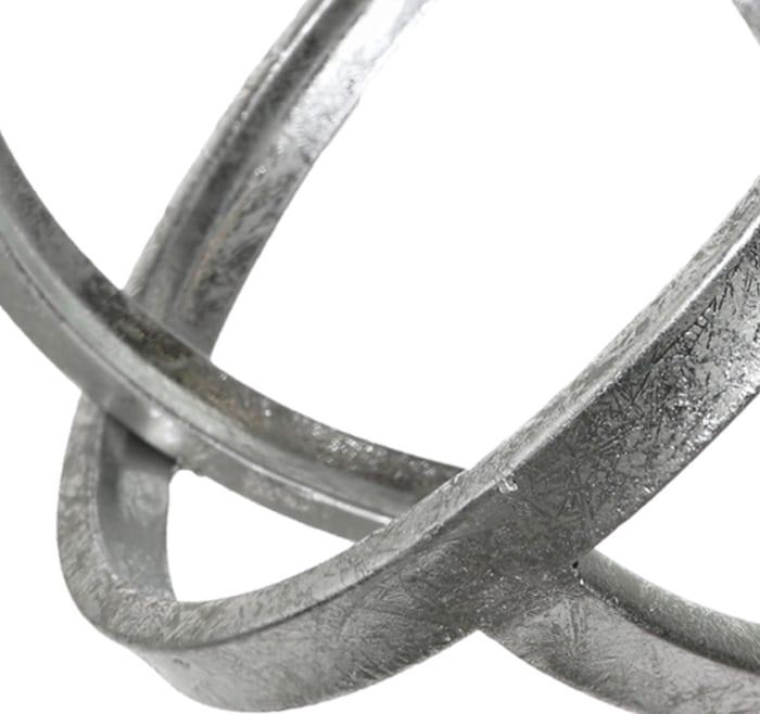 Orb Design Metal Set of 3 Sculptures
