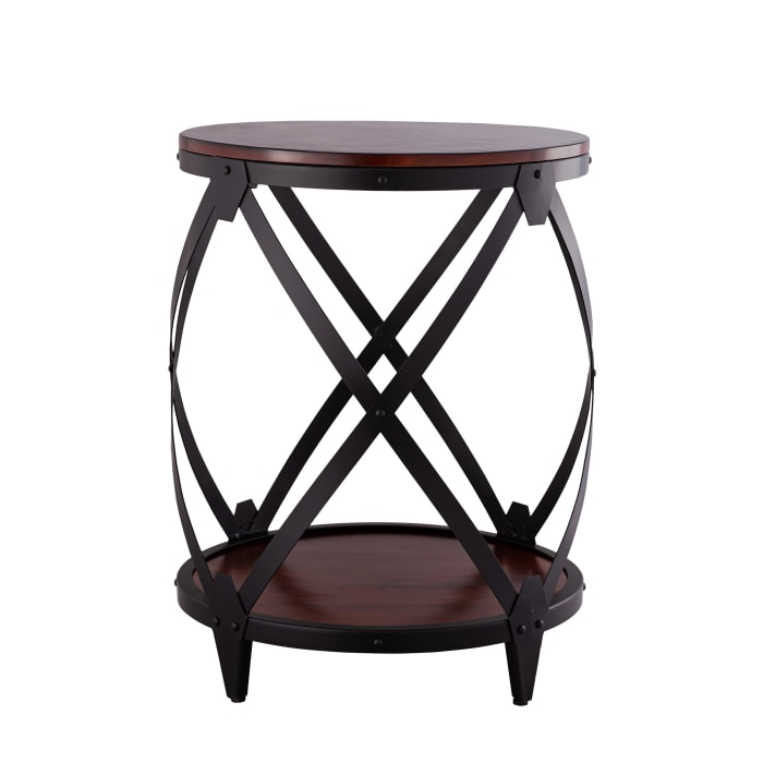 Dylan Drum End Table