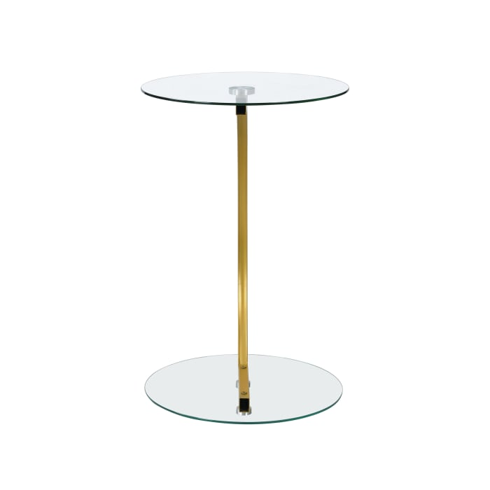 Ivy Pedestal Side Table
