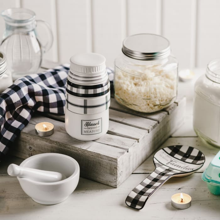Blessed Mason Jar Measuring Cups
