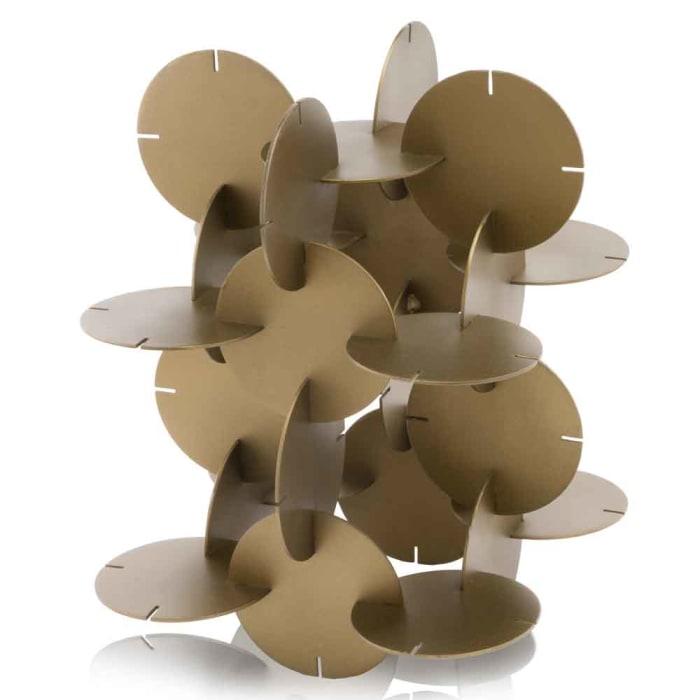 Brass Attached Discs Sculpture