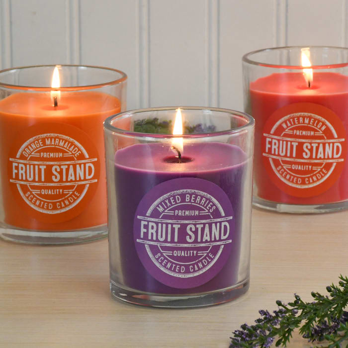 Fruit Stand Set of 3 Scented Candle Collection