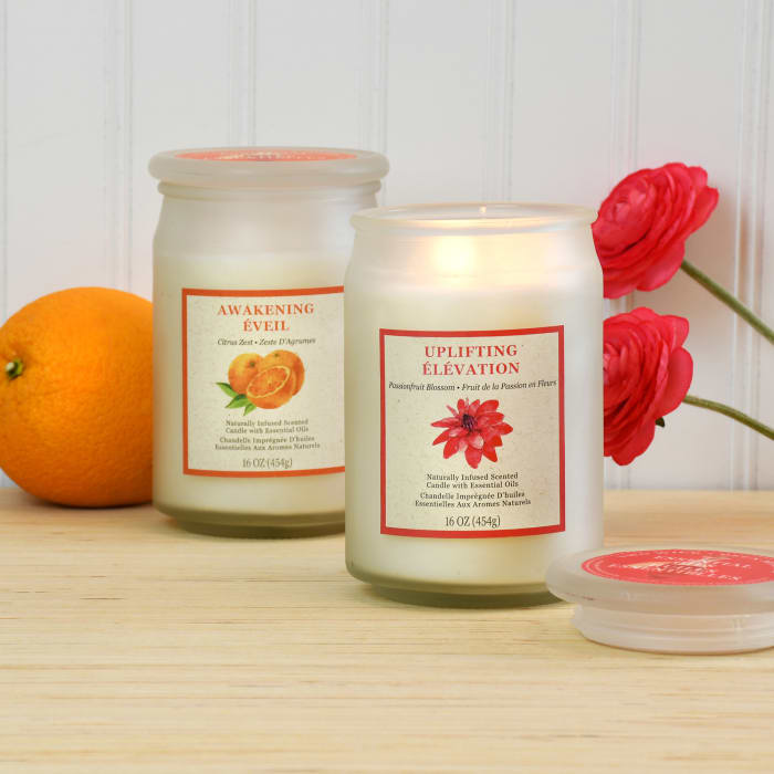 Two Wick Inspiration Scented Set of 2 Candle Collection