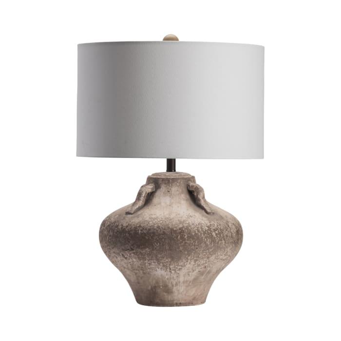 Marlo Aged Ceramic Jug Table Lamp