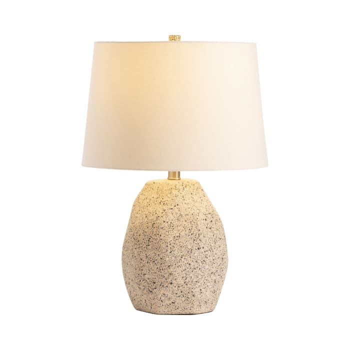 Akito Faceted Terrazzo Table Lamp