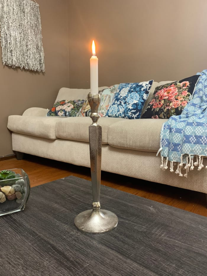 Large Taper Candle Holder