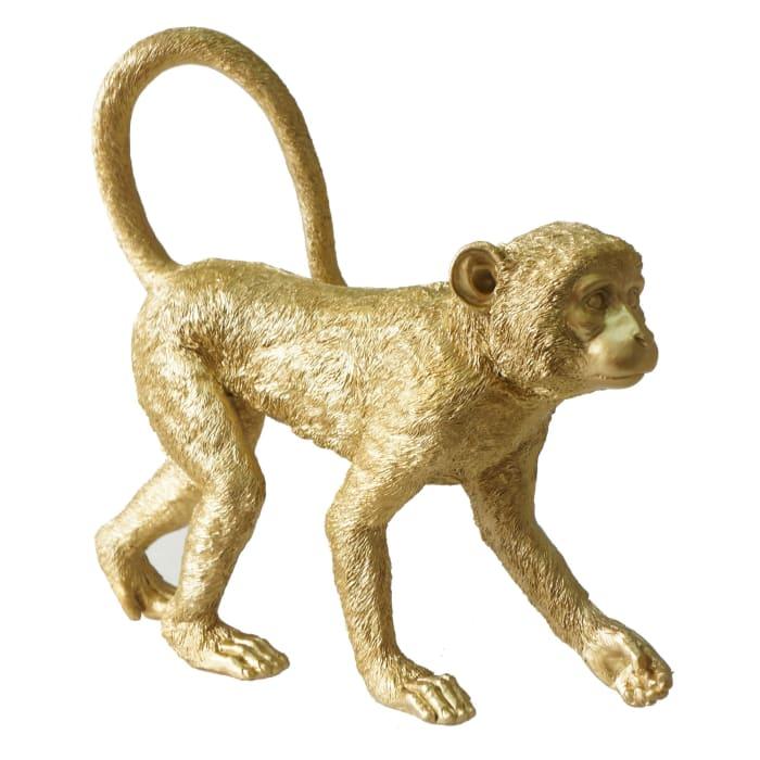 Standing Monkey Figurine