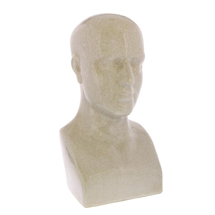 Human Phrenology Head Sculpture
