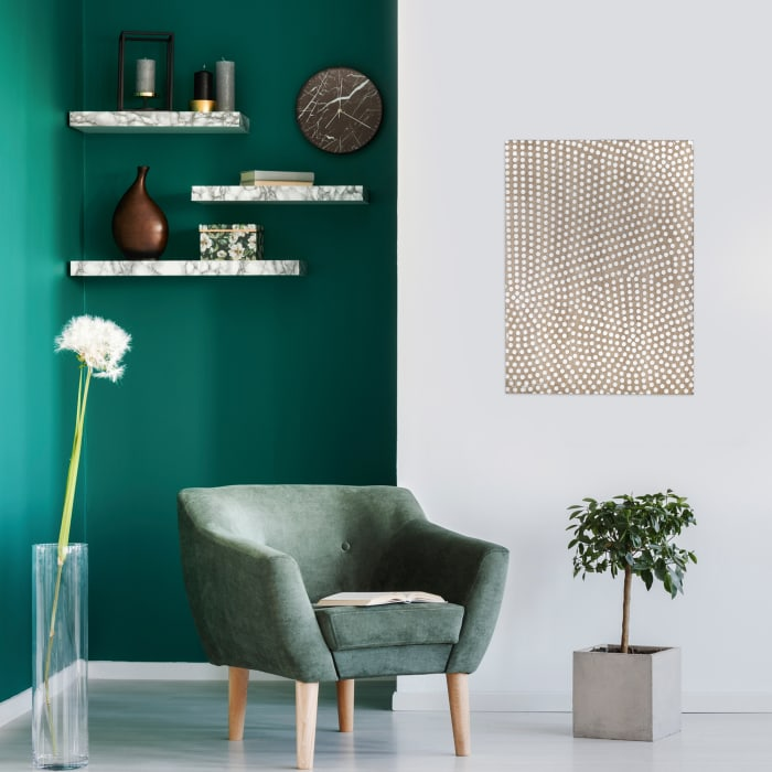 Dotted Pattern Wall Decor
