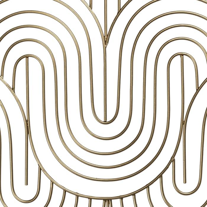 Wave Pattern Wall Decor