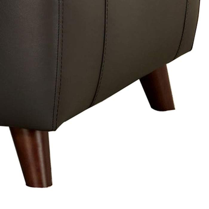Leatherette Power Recliner with USB Outlet