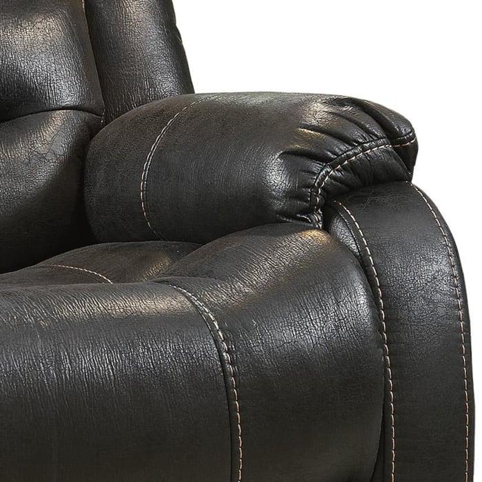 Leatherette Black Power Lift Recliner