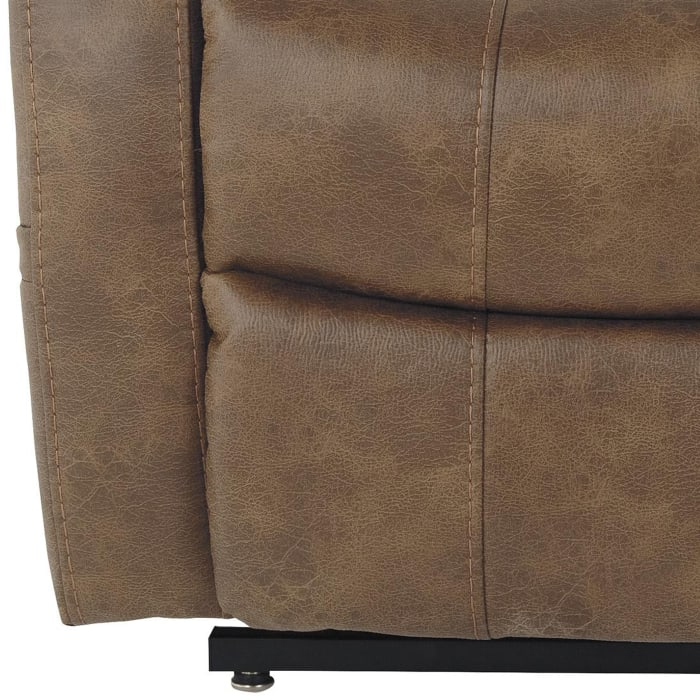 Leatherette Bown Power Lift Recliner