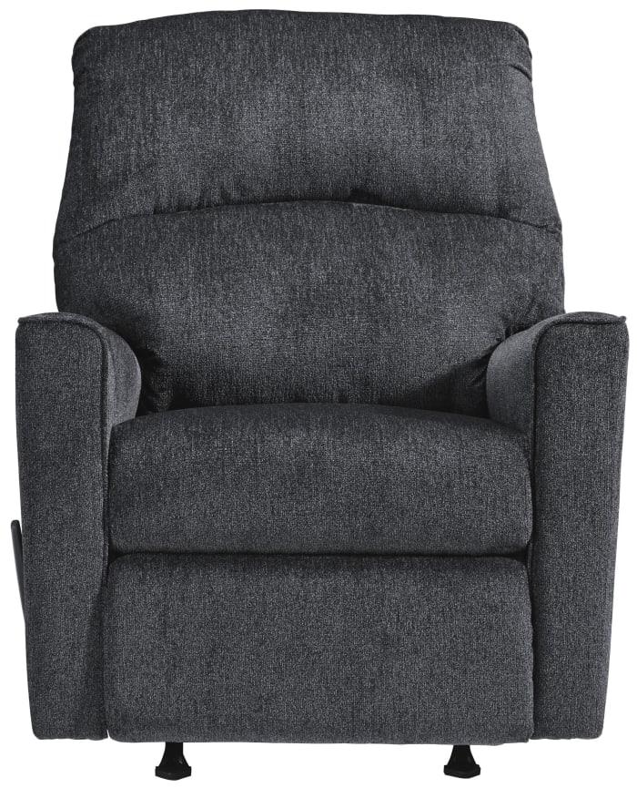 Fabric Upholstered Rocker Recliner