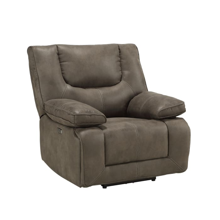Leatherette Power Recliner