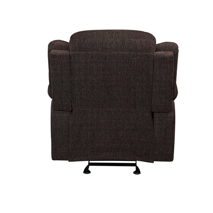 Fabric Upholstered Glider Recliner