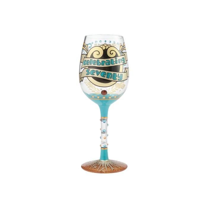 Wine Glass 70th Birthday
