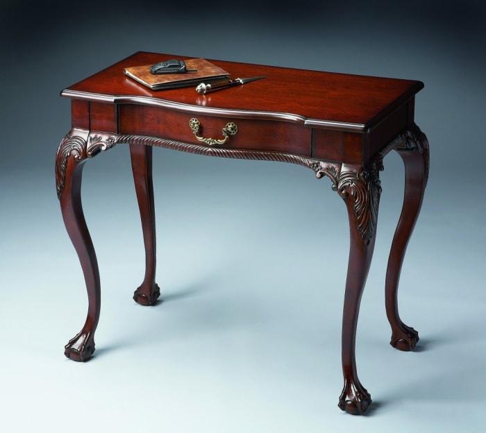 Deep Cherry Writing Desk