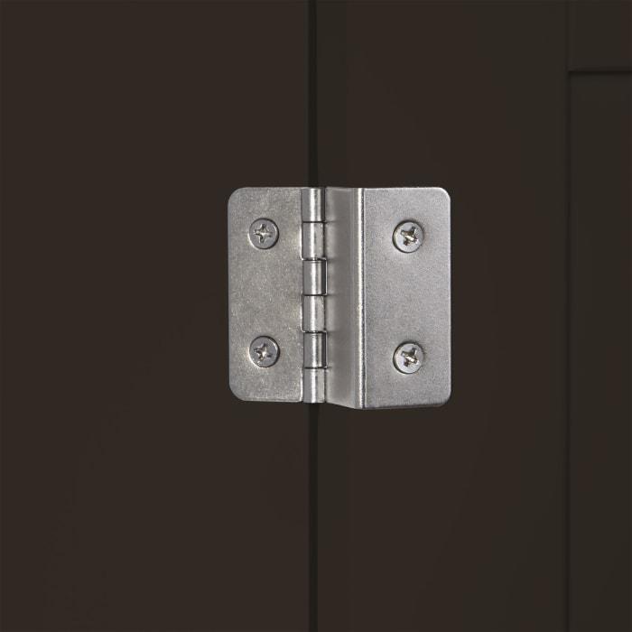 Ashland Espresso 2-Door Wall Cabinet