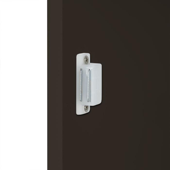 Ashland Espresso 1-Door and 3-Drawer Floor Cabinet