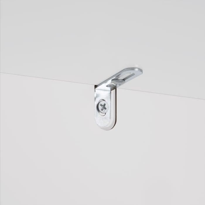 Prescott White Single Door Slim Floor Cabinet