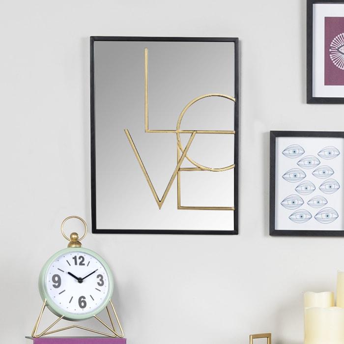 Love Layered Modern Wall Mirror