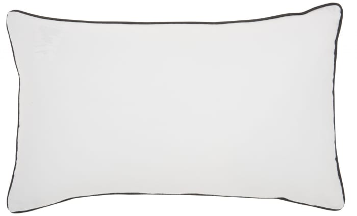 Black and White I Miss My Mind Throw Pillow