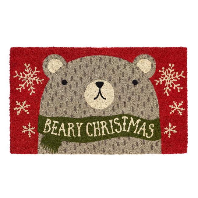 Beary Christmas Doormat