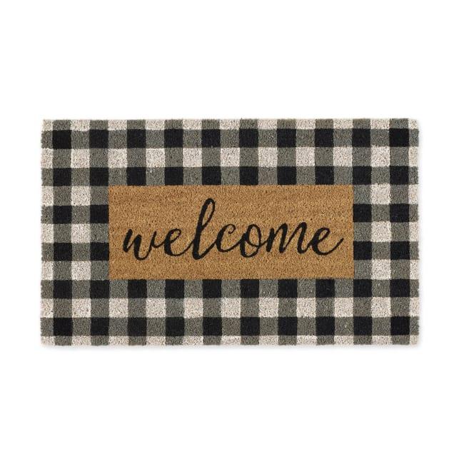 Checkers Welcome Doormat