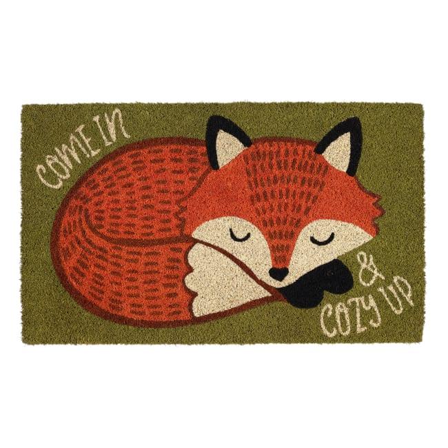 Cozy Fox Doormat