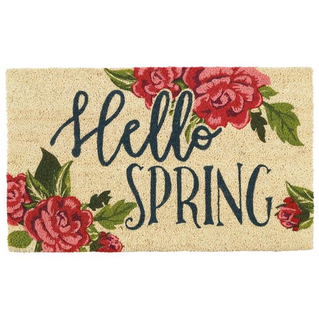 Hello Spring Doormat