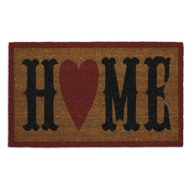 Home Heart Doormat