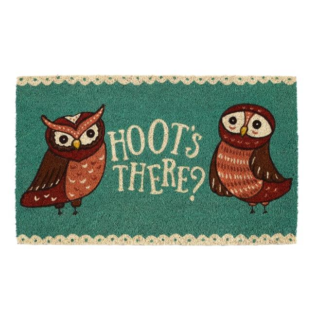 Hoots There Doormat