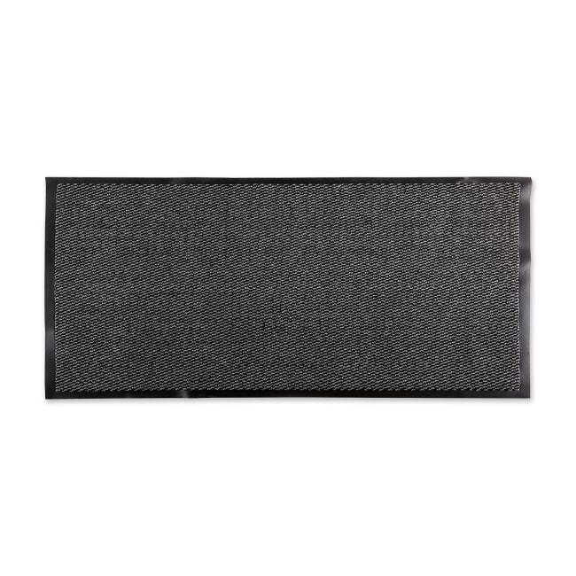 Walk Off Utility Runner Doormat 22x60 Gray/Black