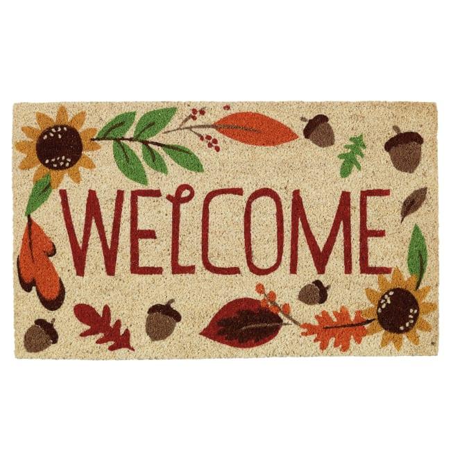 Welcome Autumn Doormat
