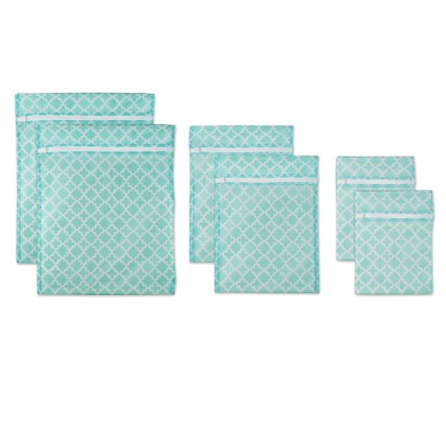 Aqua Lattice Set D Mesh Laundry Bag (Set of 6)